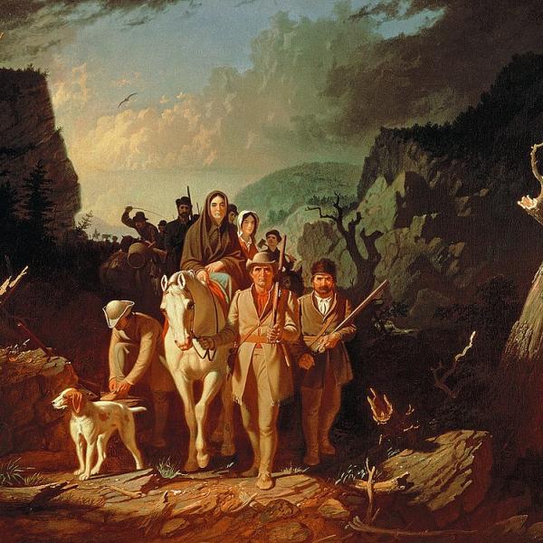 Daniel Boone print