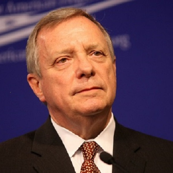 Durbin mostly on target with claim about police support for expanding background checks