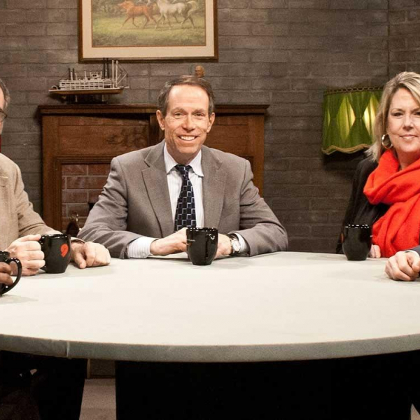 Weidenbaum Center Incoming Director Steve Fazzari featured guest on PBS Donnybrook Show
