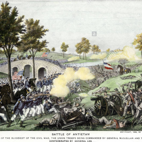 battle of antietam print